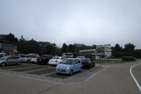 日本平頂上の駐車場