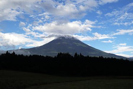 8月16日夕刻の富士山