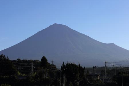 8月19日朝の富士山