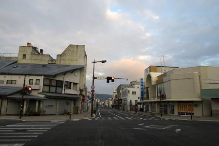 富士宮市街を抜ける