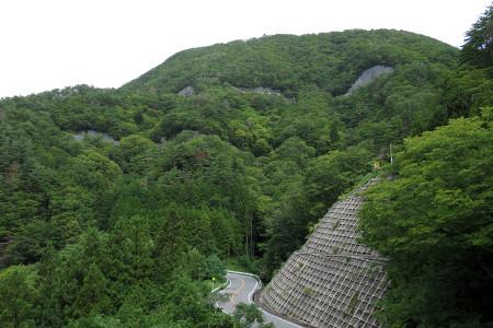 風景は山岳コース