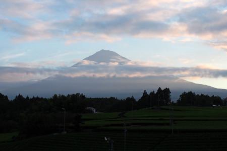 2013年9月6日の富士山