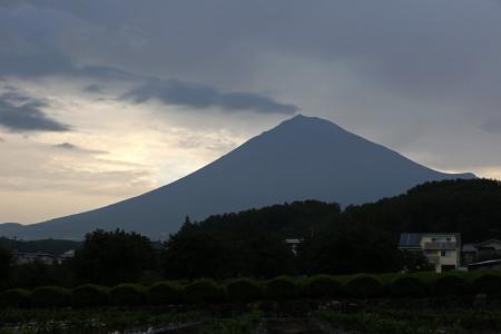 9月8日朝の富士山