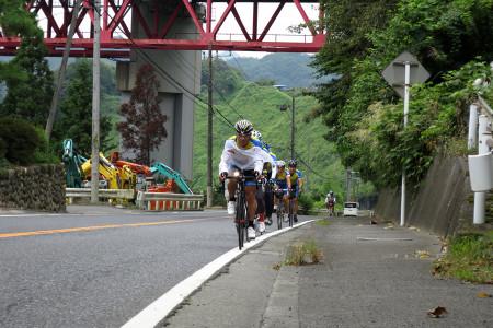 上野原での走り