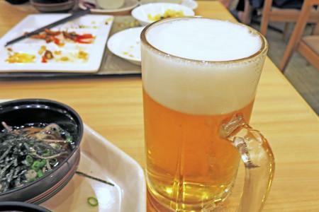 生ビールは5杯程