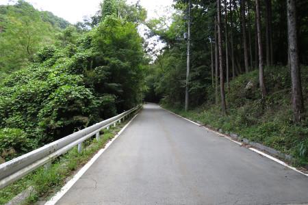 笹子峠への道