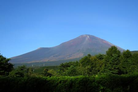 籠坂方面からの富士山