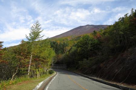 富士山を撮りながら