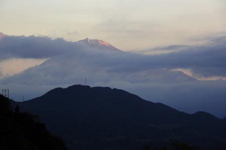 10月28日薩た峠からの富士山