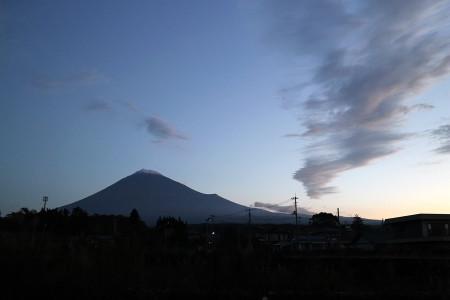11月3日の富士山