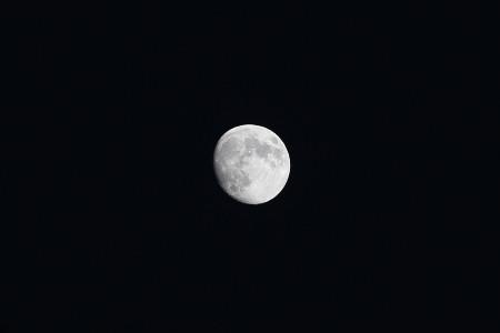 10月6日十三夜の月