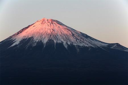 2013年11月19日の富士山