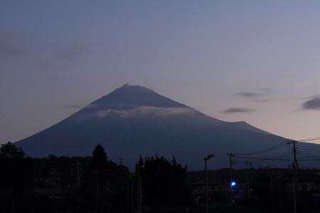 2014年11月19日の富士山