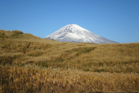 東富士演習場と富士山