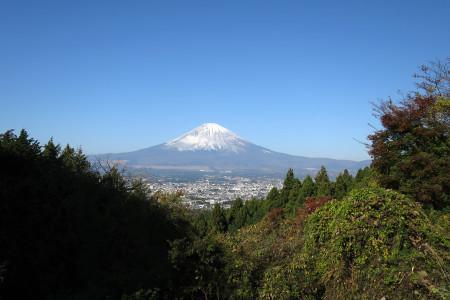 富士山がきれいに