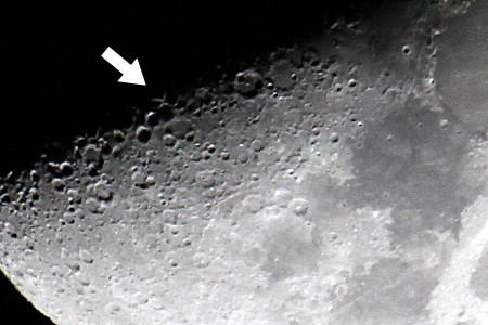 月面X拡大