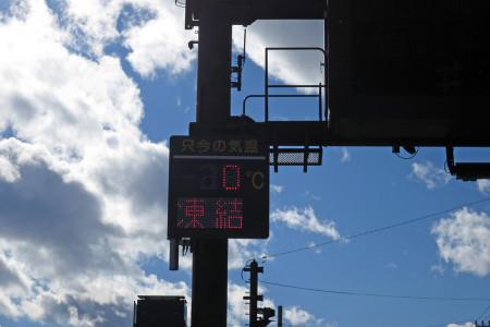 気温は0℃