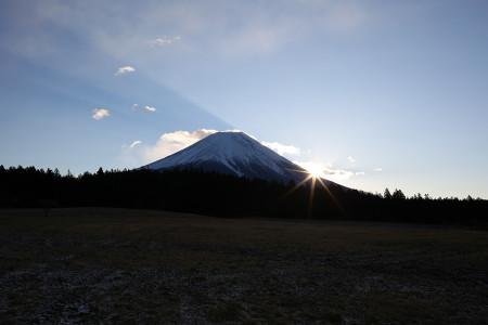 2015年富士山からの初日の出
