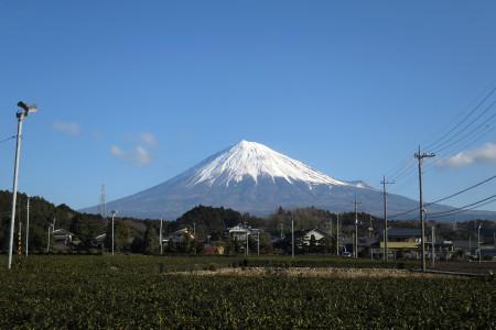自宅付近からの富士山