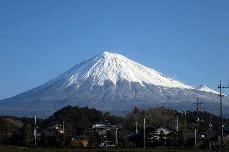 自宅付近の富士山