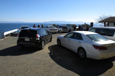 薩た峠の駐車場