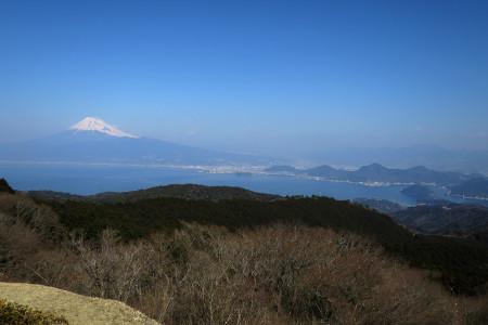 達磨山レストハウスからの光景