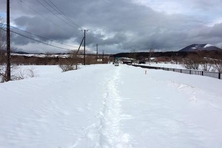 2014年2月15日午後の国道139号