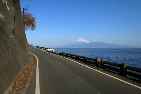 西伊豆からの富士山