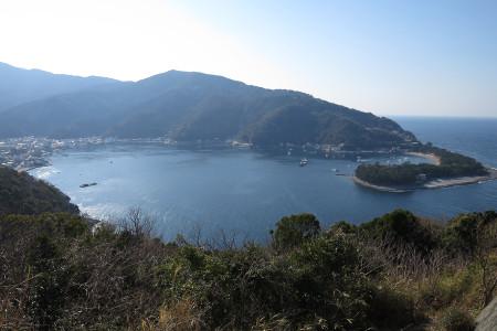 出逢い岬からの戸田