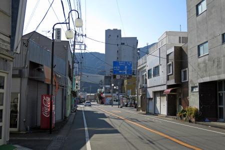 戸田の街並みを抜ける