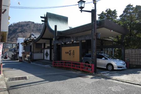 修善寺の温泉街