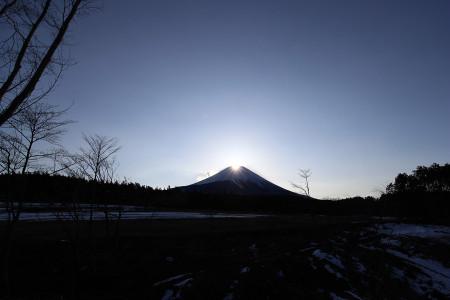 2月20日のダイヤモンド富士
