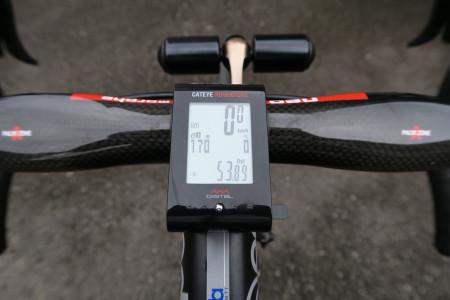 サイクリング時のメーター写真