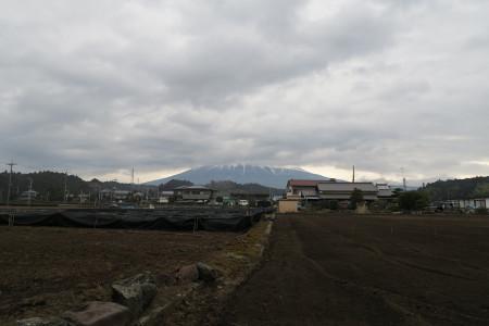 雲と富士山