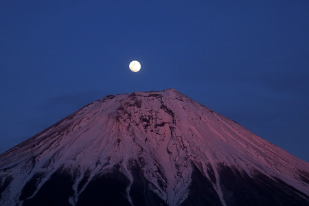 FinePix S1で撮ったパール富士