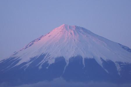 3月14日夕方の富士山