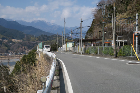 JR身延線井出駅