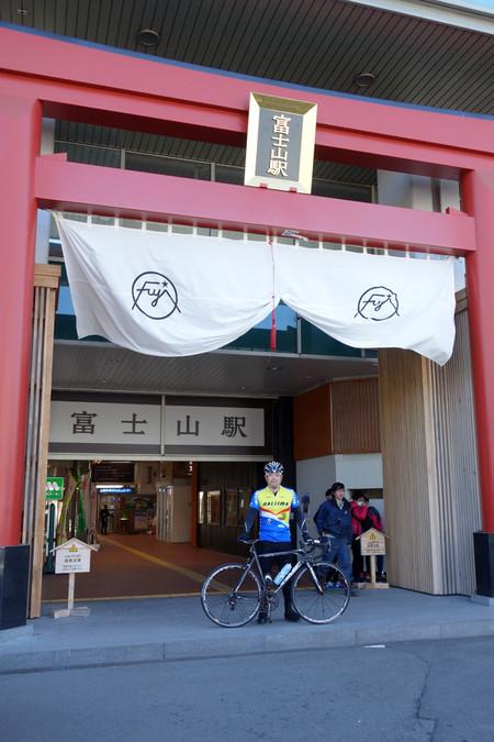 富士山駅にて