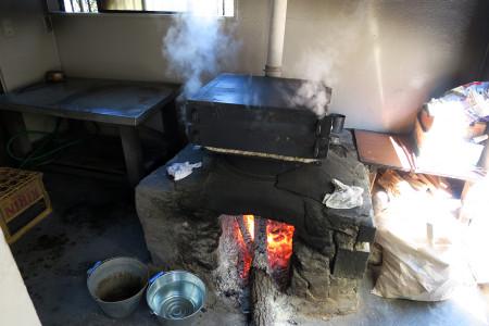 蒸かされる饅頭