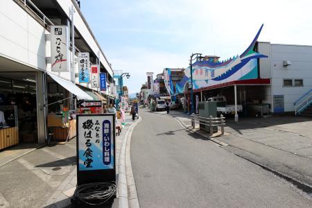 沼津港の光景