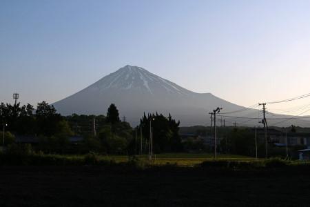 5月2日朝の富士山