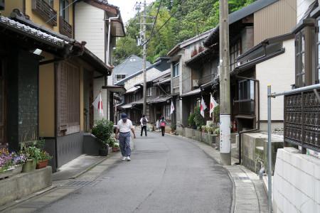 由比の旧街道