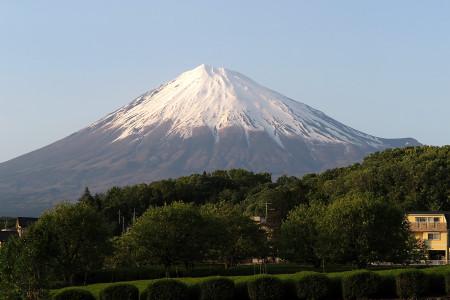 2014年5月9日の富士山