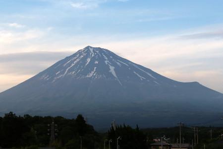 5月11日夕刻の富士山
