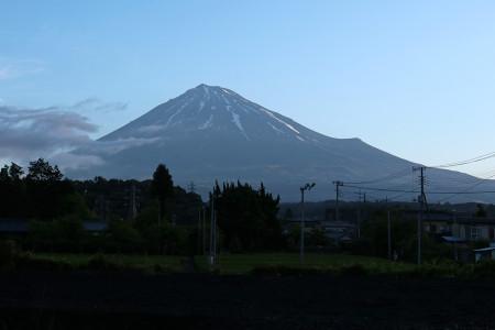 5月13日朝の富士山