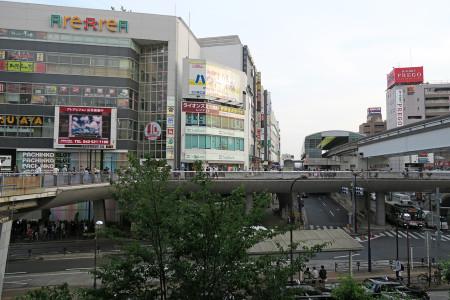 待ち合わせの立川駅