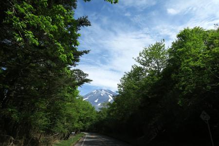 二合目付近からの富士山