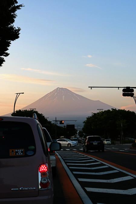5月22日夕刻の富士山