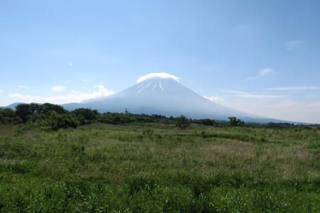根原県境からの富士山