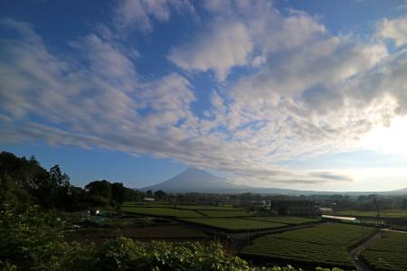 夏至の日の富士山